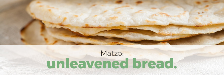 matzo refers to unleavened bread