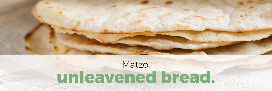 matzo refers to unleavened bread