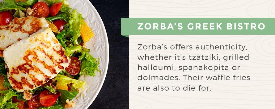 Zorba S Greek Bistro